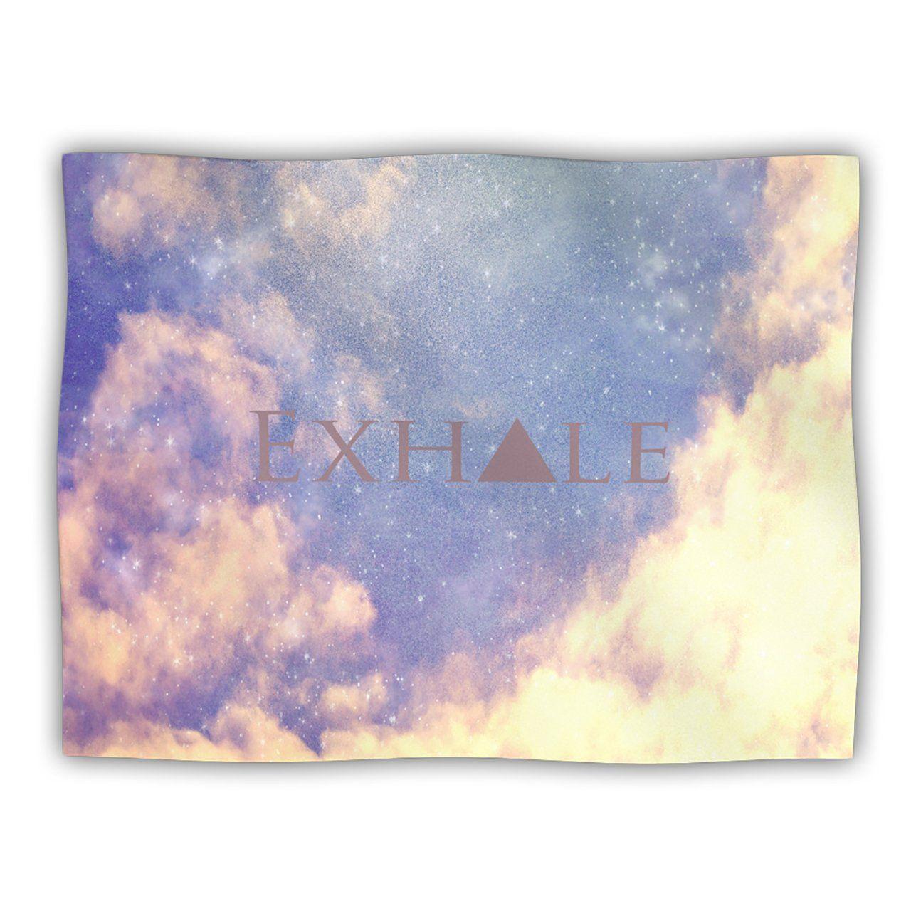 Kess InHouse Rachel Burbee 'Exhale' Pet Dog Blanket, 60 by