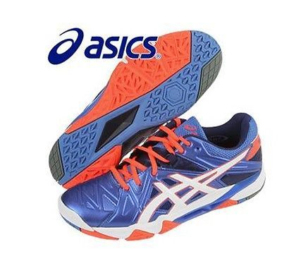 NEW ASICS GEL SENSEI 6 Squash Indoor Shoes/Mesh Material/Blue(B552Y- · Sports  EquipmentRacquet ...