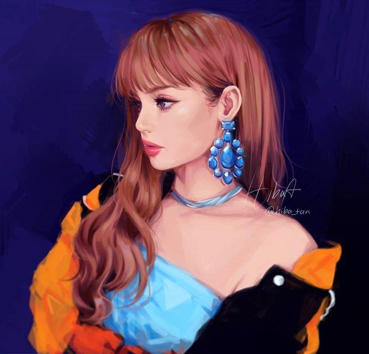 Lisa Lisa Blackpink Wallpaper Anime Art Girl Fan Art