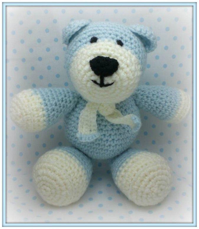 Atractivo Crochet Patrón Oídos Oso Inspiración - Manta de Tejer ...