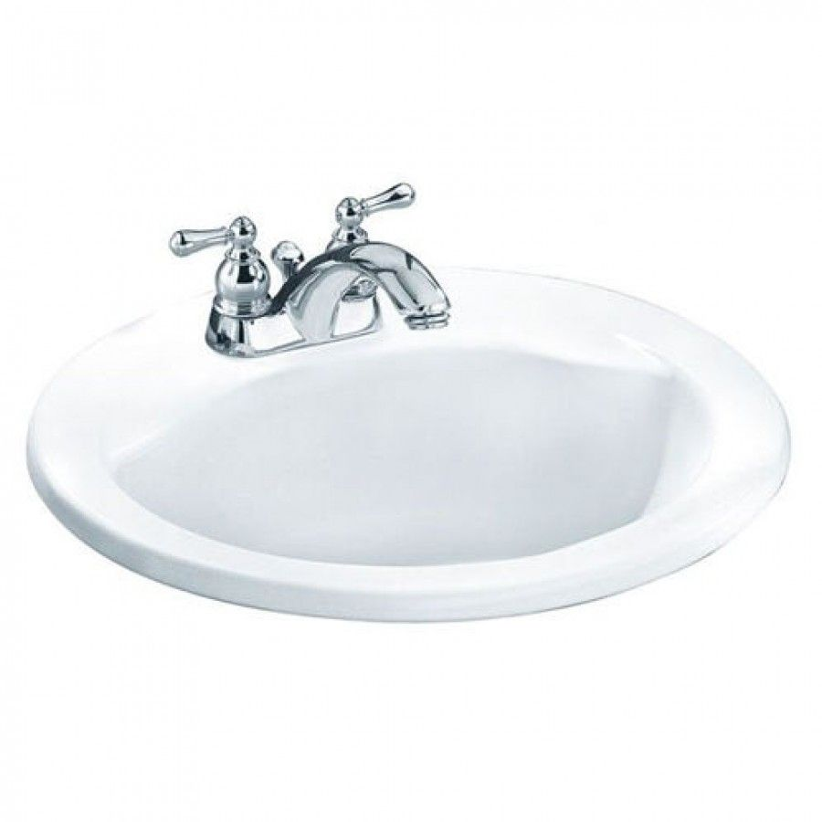 American Standard Cadet Everclean Oval Bathroom Sink - 0419 ...