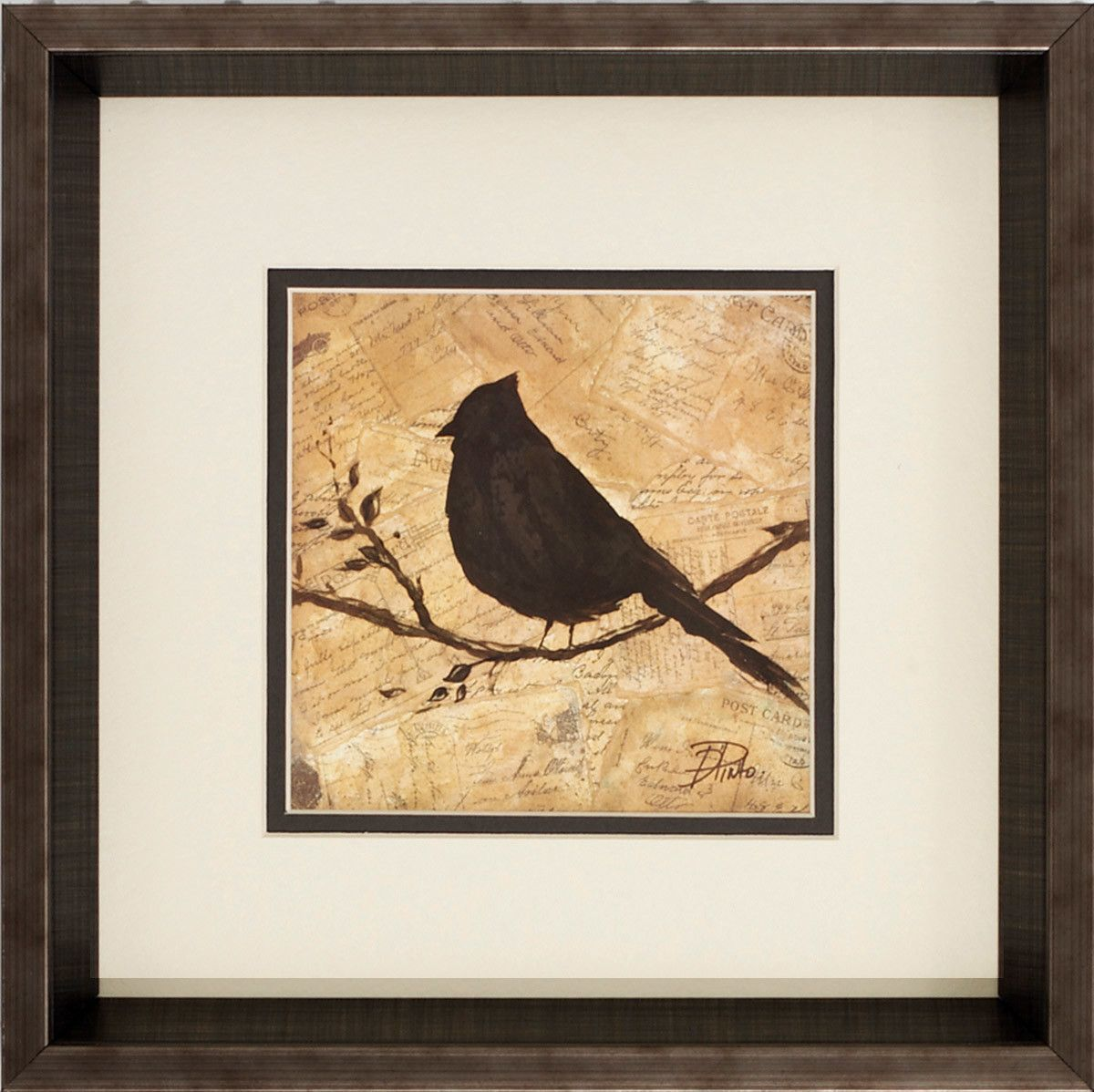 Bird Silhouette 2 Piece Framed Graphic Art Set | Products ...