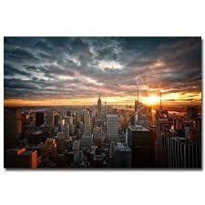 Resultado de imagem para new york city poster at night