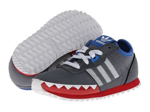 new product 1f79b 90854 adidas Originals Kids ZXZ 700 Shark (Toddler) LeadWhiteCollegiate Red -  Zappos.com Free Shipping BOTH Ways