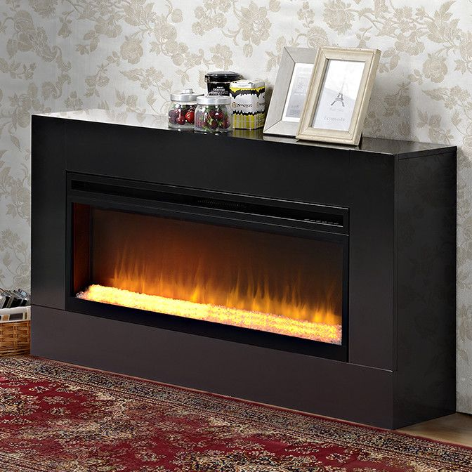 Mantova Freestanding Electric Fireplace Insert Products Electric