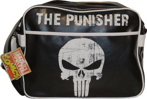 0de4facf595 Marvel Comics The Punisher Black Messenger Bag Price   £29.95 http   www