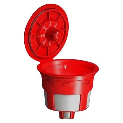 Solofill k-cup | drop it in like any other k-cup, don't have to remove filter holder  | <3 mine!
