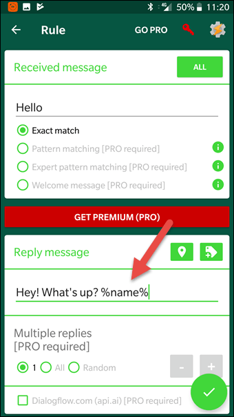 How to Send an Automatic Reply to WhatsApp Message in Android [Step