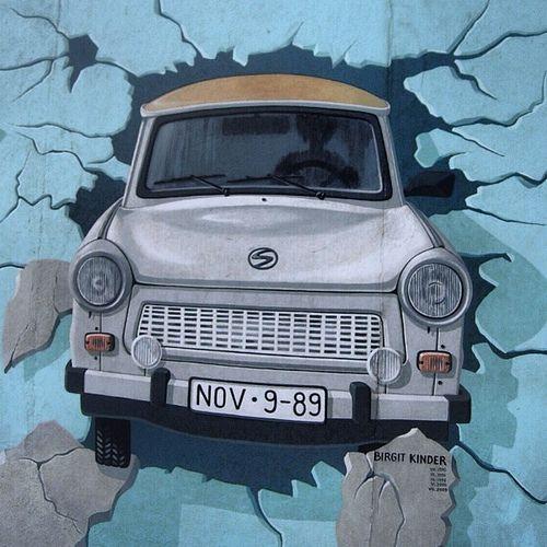 Trabant Berlin Wall East Side Gallery Berlin