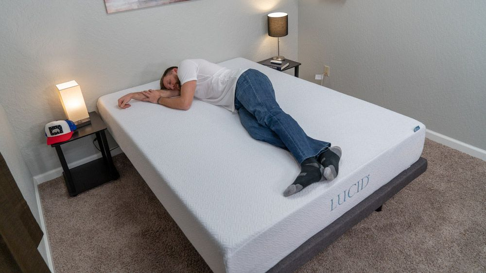 Lucid 10 Gel Memory Foam Mattress Review Mattress Comparison Mattresses Reviews Mattress
