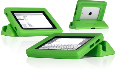 Cool iPad case to protect iPads in little kid hands!
