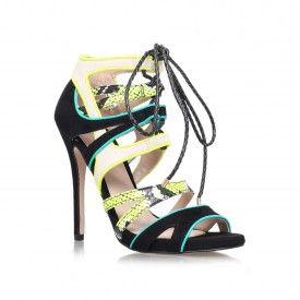 1f596e20fa9 Kurt Geiger | Carvela Kurt Geiger Green High Heel Sandals by GHECKO ...