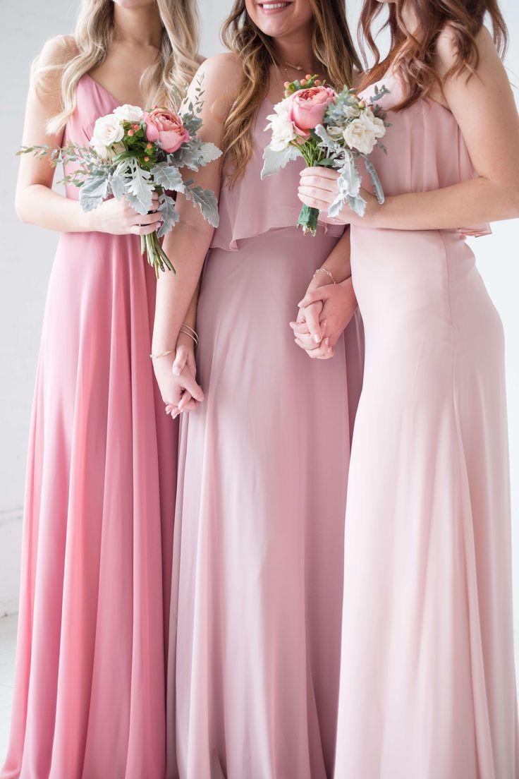 Shades of Pink. Love Tanya Bridesmaid dresses for this spring ...