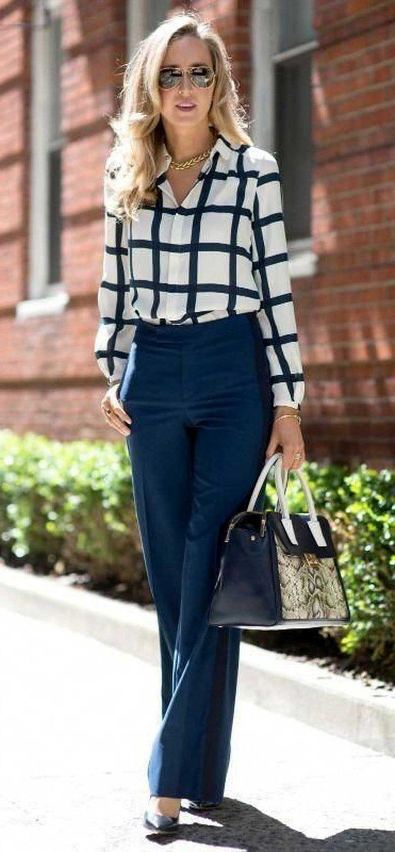 30 Professional Business Attire for Young Women 03 002