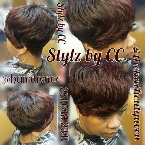 Stupendous Stylz By Cc Soft Waves Black Women Short Cuts Pinterest Soft Hairstyles For Men Maxibearus