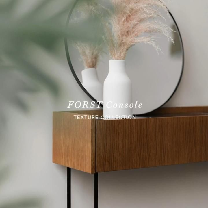 FORST console is an ideal piece of furniture for the living room or hall. Thanks to the modest drawers you can hide all the items which should always be at hand. #furnituredesign #movie #furniture #marble #marbledesign