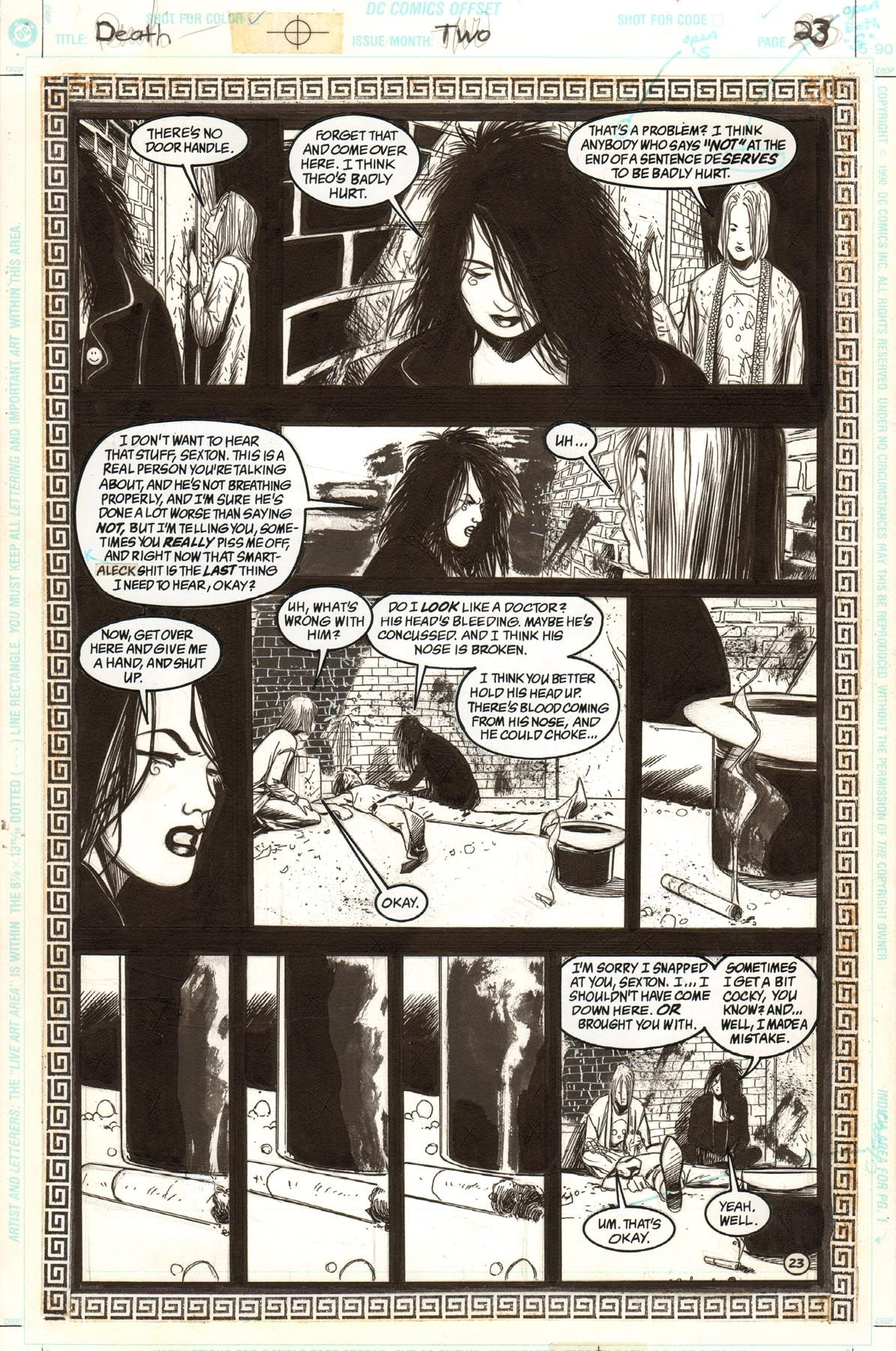 DEATH: THE HIGH COST OF LIVING #2 PAGE 23