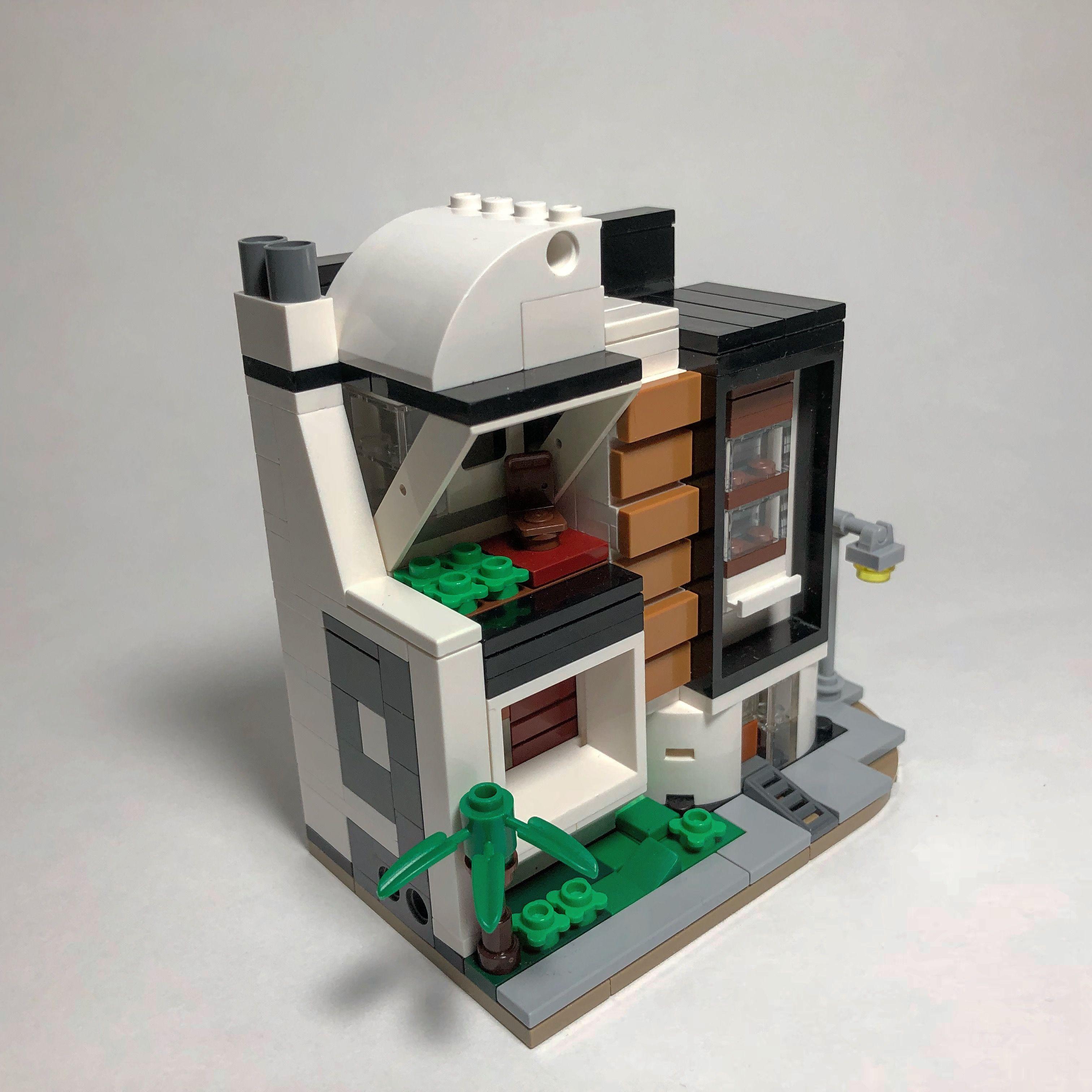 Lego Mini Modular Modern Building Micro Lego Lego Lego Creations