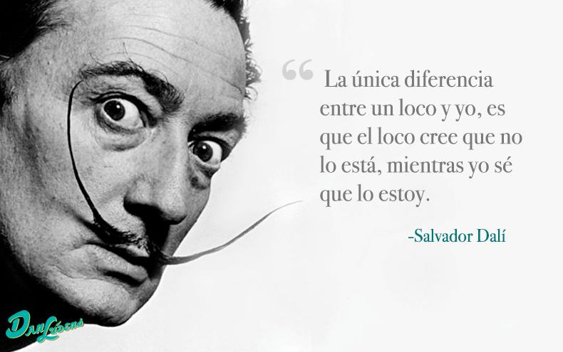 Frase Dalí Retratos Famosos Salvador Dalí Y Biografia De