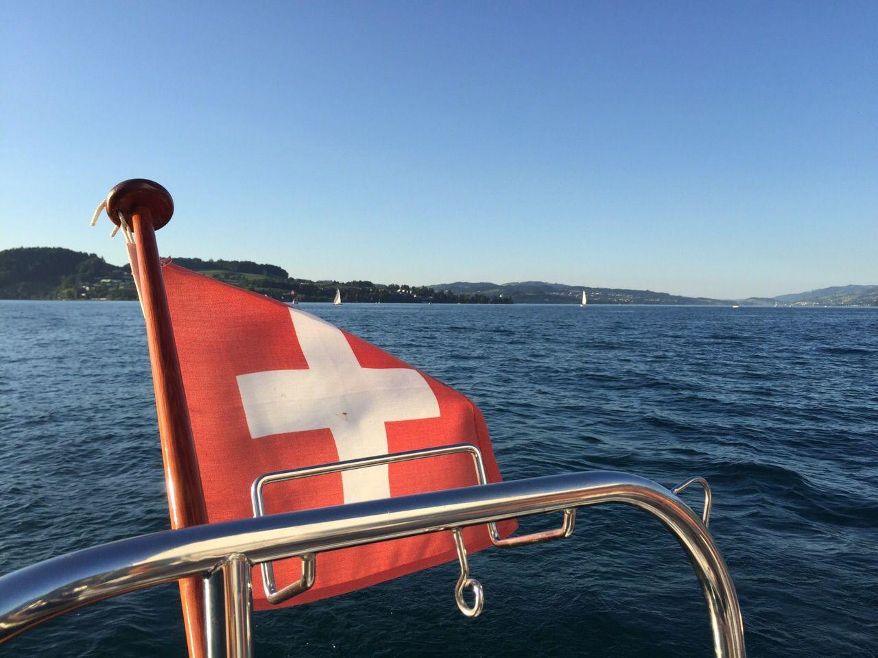 #Switzerland - #Sailing #Lake #Lucerne