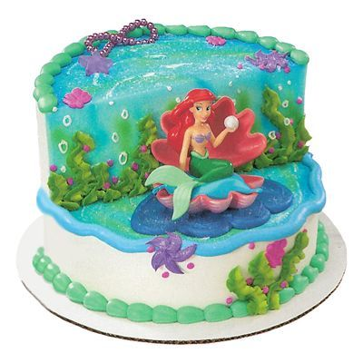 little mermaid birthday cake Little Mermaid Birthday Cake