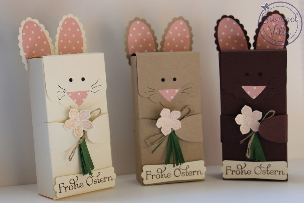 stampin 39 up frohe ostern verpackung easter box kreativ selber machen ist pinterest. Black Bedroom Furniture Sets. Home Design Ideas