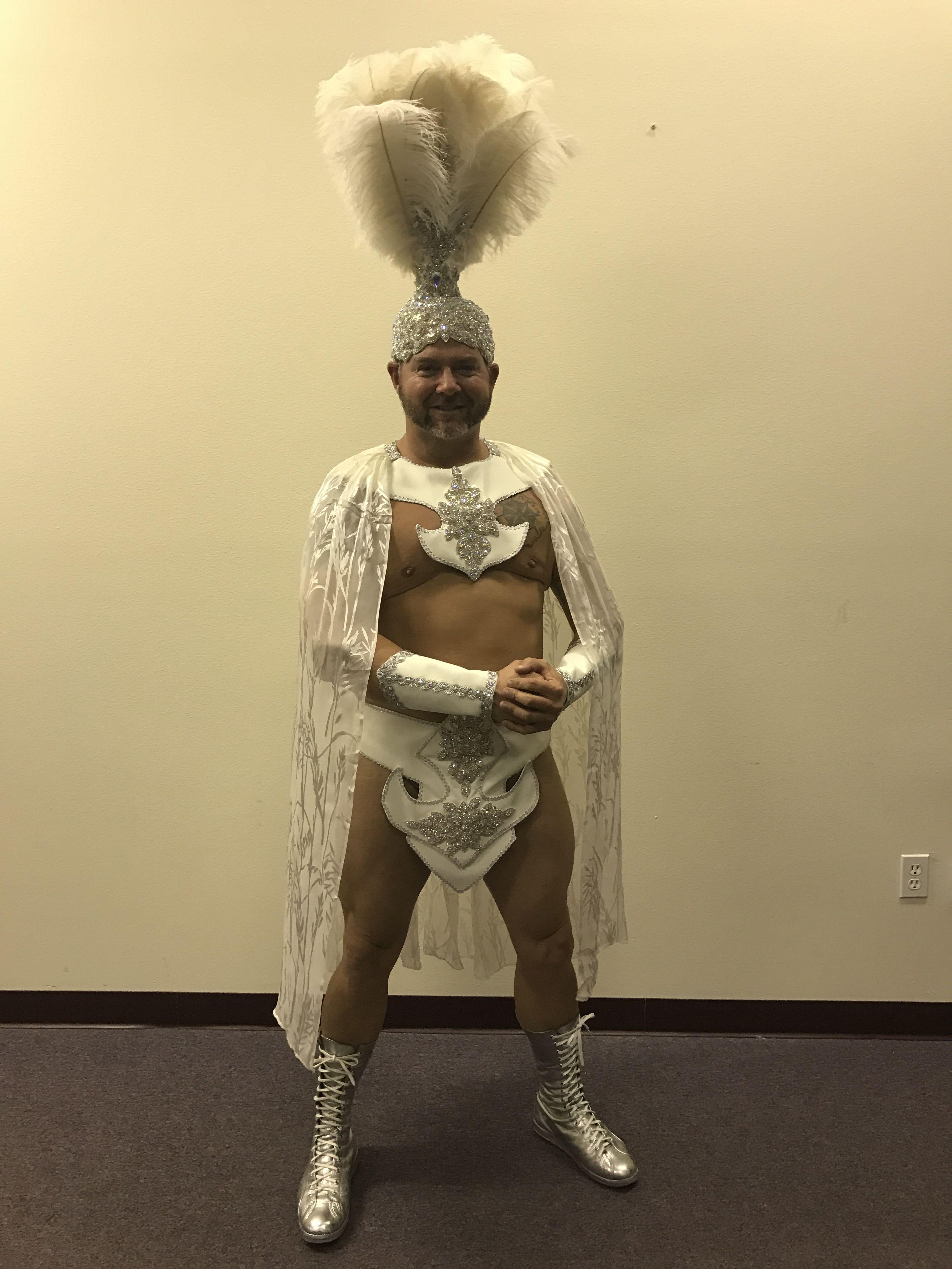 Showgirl gladiator