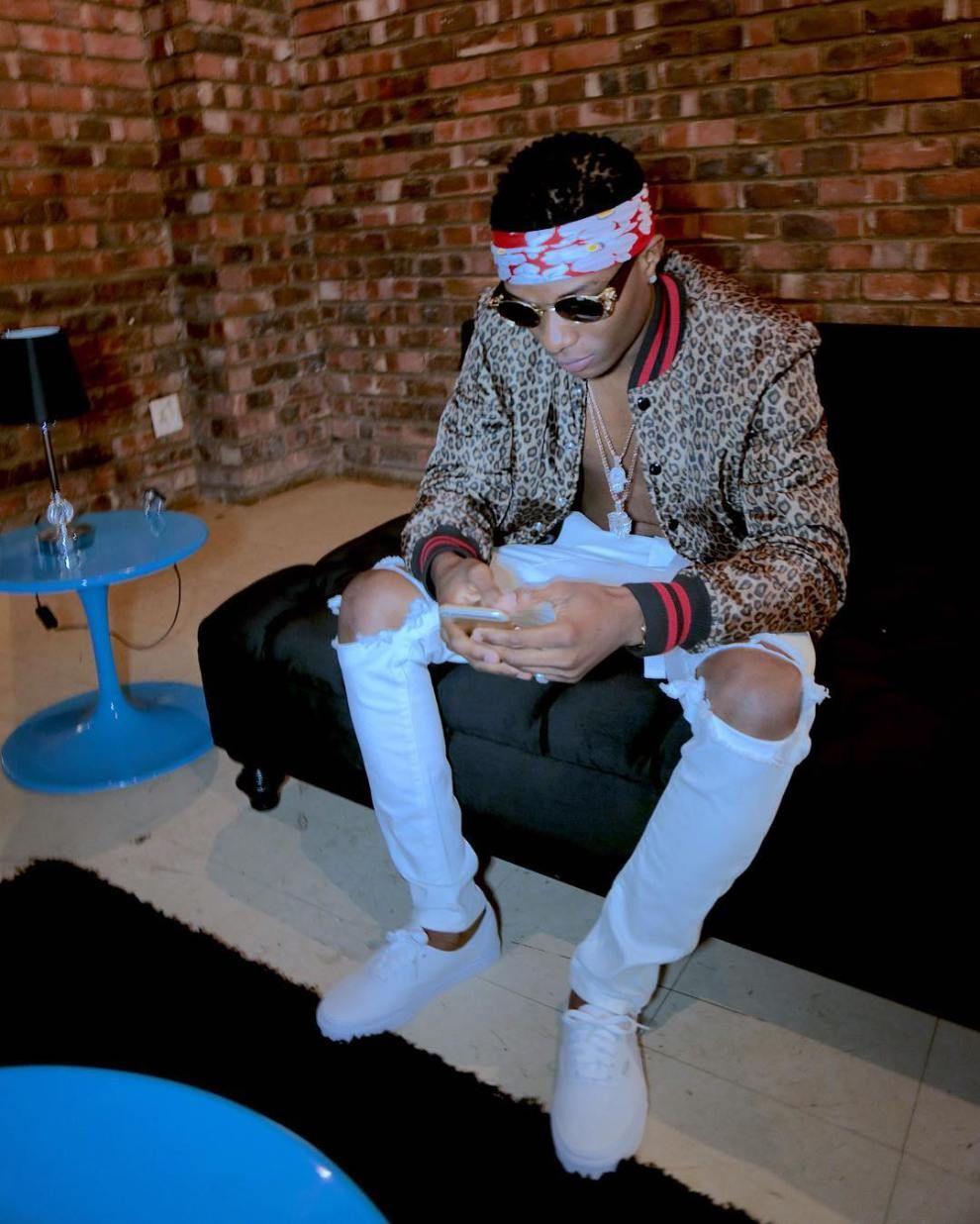 It is no news that Nigerian artiste – Wizkid a k a Starboy – has
