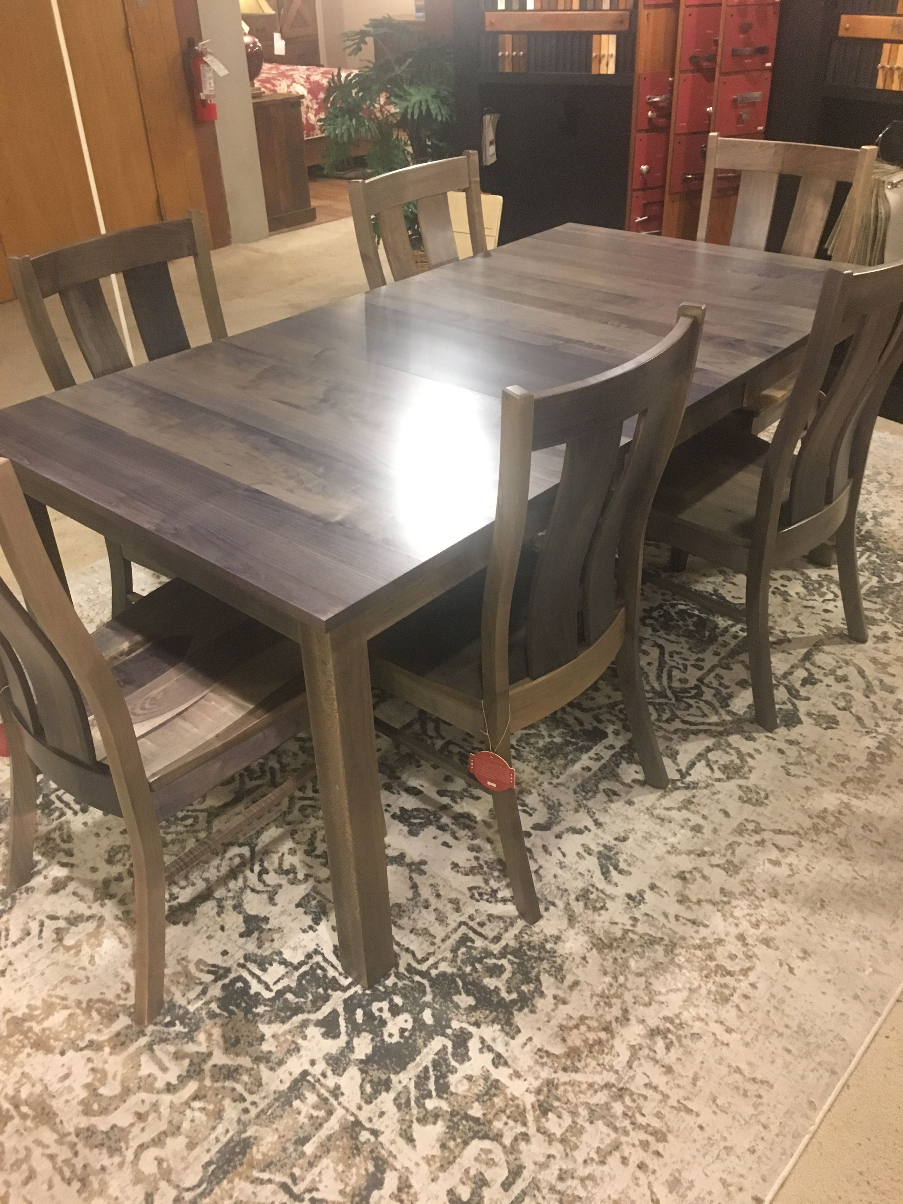 Dining Table By Simply Amish Fitterer S Furniture Downtown