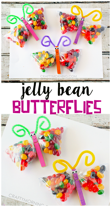 Jelly bean butterfly treat bags cute easterspring gifts for the jelly bean butterfly treat bags cute easterspring gifts for the kids negle Gallery