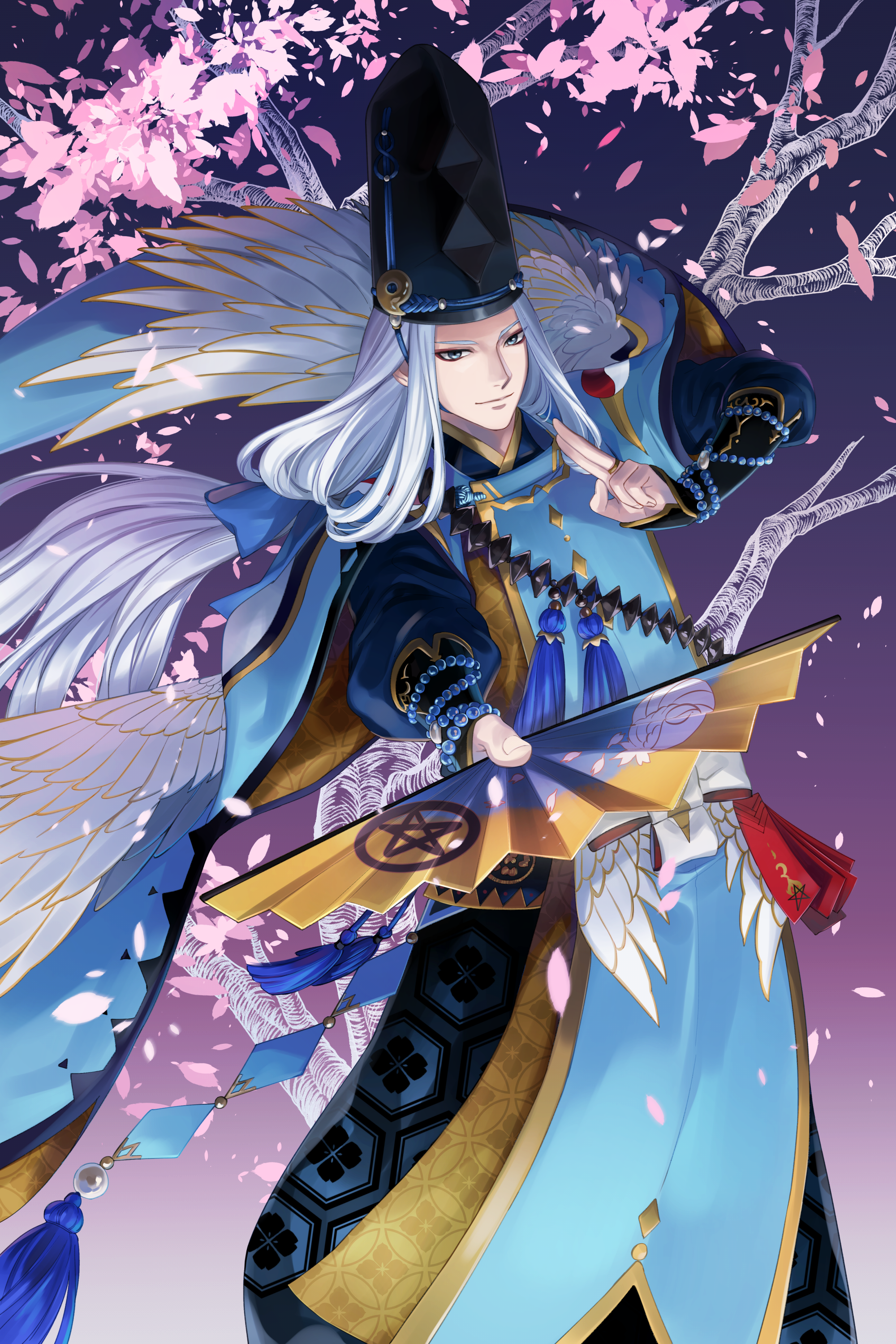 Image result for onmyoji abe no seimei back