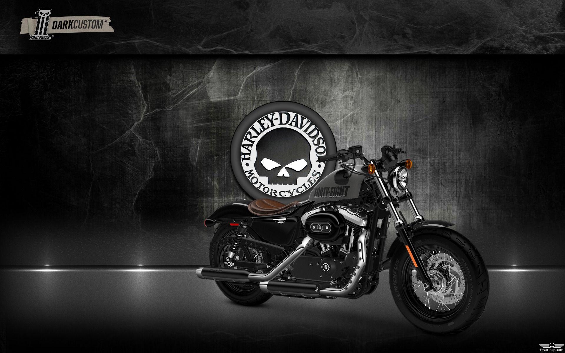 3d 4k Fbb Wallpaper Fond D 233 Cran Harley Davidson Forty Eight 1920 215 1200
