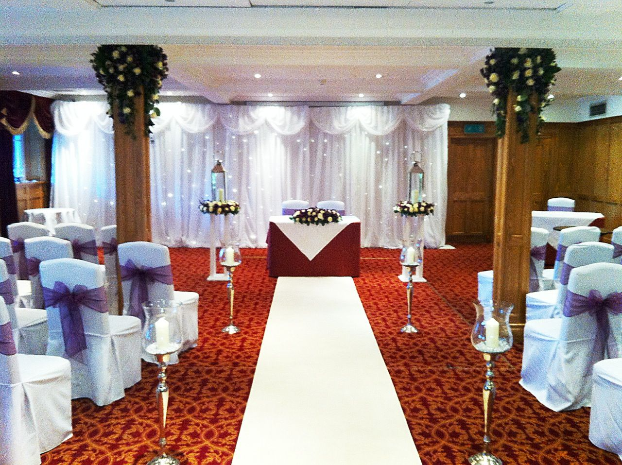 Gorgeous Wedding Ceremonies: Gorgeous #wedding Ceremony Set Up By #Ambience #Bradford
