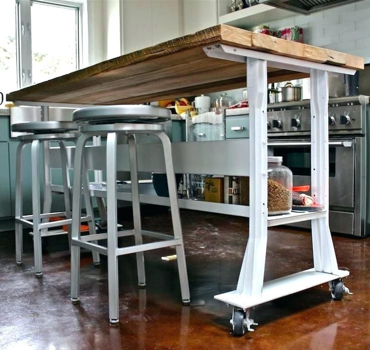 kitchen island on casters homemade rolling kitchen kitchen island with casters large origami folding cart white on wheels uk