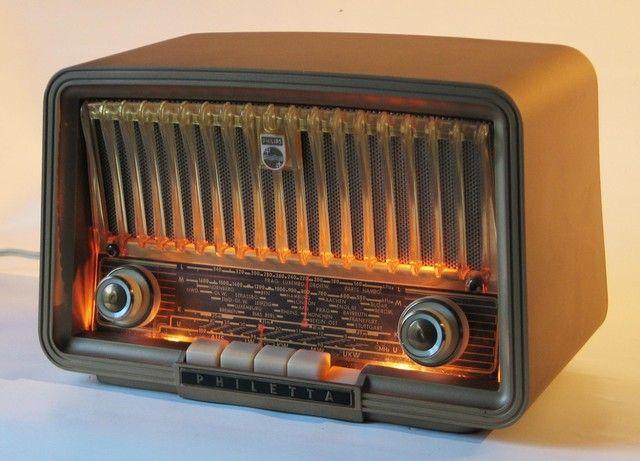 Philips Philetta Bd263u Lighted Dial Vintage Radio Antique Radio Retro Radios