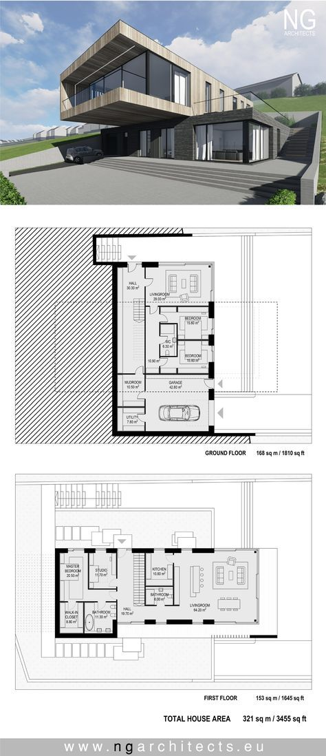 Awesome #mnur   Modern House Plan Villa In Faroe Island By NG Architects  Www.ngarchitects