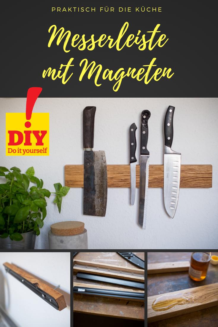 Messer-Magnetleiste selber bauen in 15  Magnetleiste, Messer