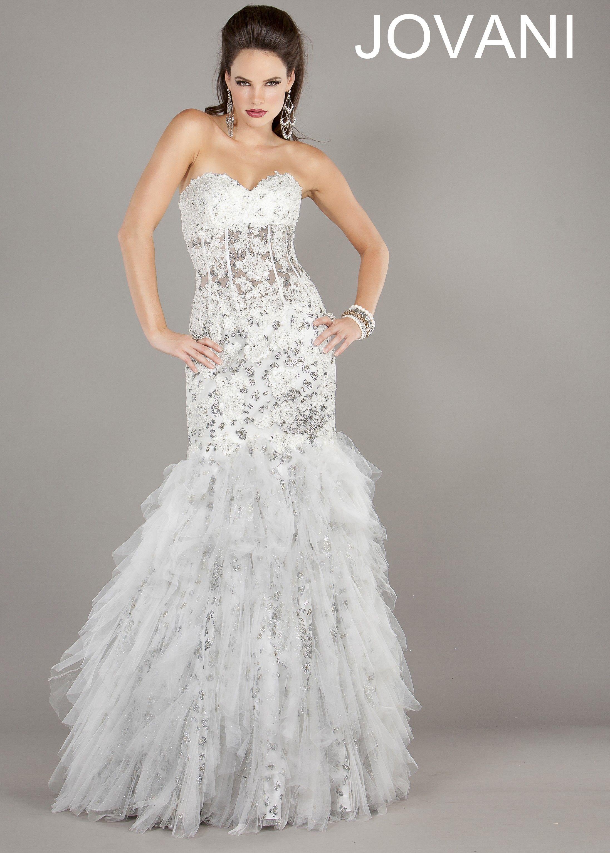 Jovani mermaid prom dress mermaid gown mermaid and gowns