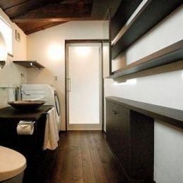 『TN-house』チョコレートケーキの家の部屋 トイレ・洗面スペース