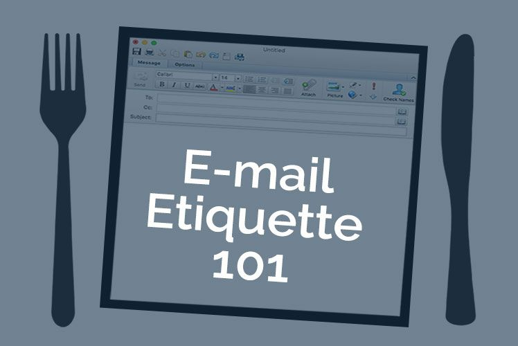Email Etiquette 101 – Things You Need To Know So you've finally entered the professional work force, you are now living in the real world with real responsibilities. That means you probably have a work email that you use to talk to clients, customers, co-workers, etc,. The question is, do you know how to properly use all the fields in the email? If you don't then listen up, you will find this blog to be very beneficial and useful. We understand that when you go to write an email you are…