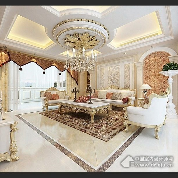 Luxury Mansion Living Room Designer: Pin By Doaa Nasser On HOME: Living Rooms