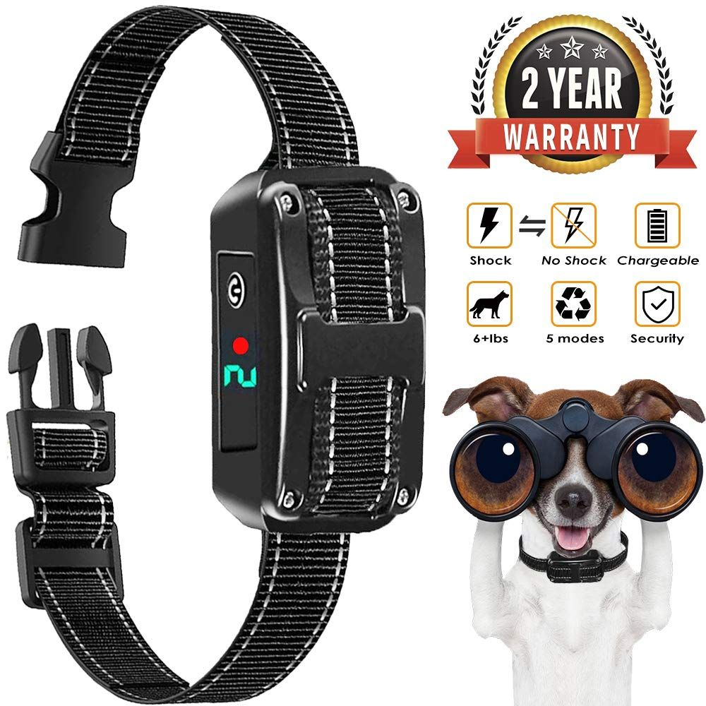 Bark Collar Rechargeable Bark Control Collar Devices With 5