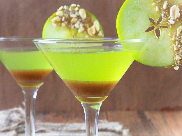 Caramel Apple Martini Recipe Caramel apple martini