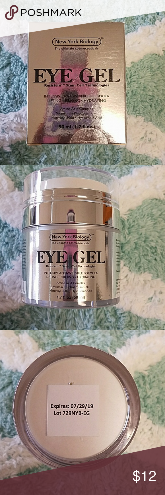 Eye Gel BEST Eye Cream for Dark Circles Puffiness and Fine Lines