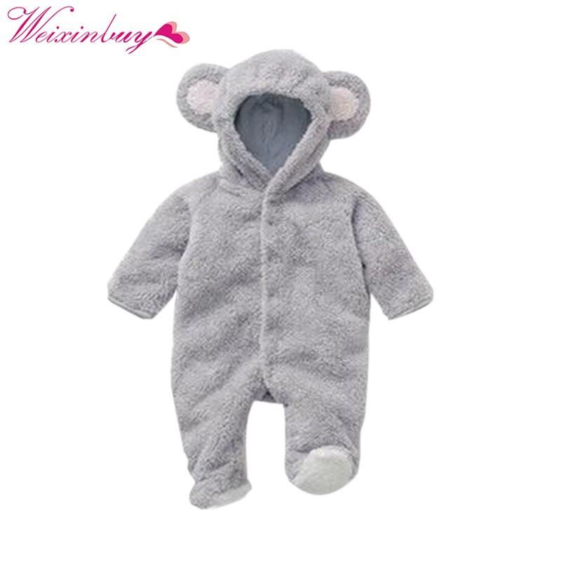 ba72f63588d2 Baby Rompers Spring Baby Clothes Flannel Baby Boy Clothes Cartoon ...