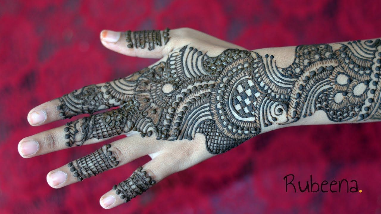 Pin on Mehndi Design Tutorial