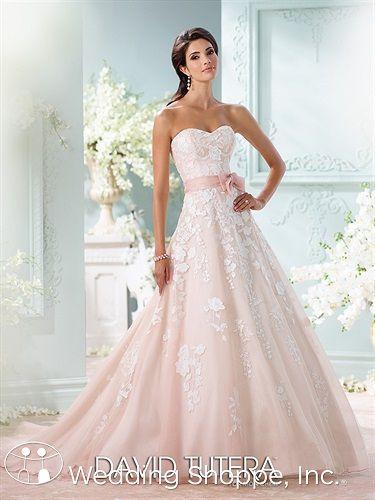 David Tutera for Mon Cheri Bridal Gown Hillary / 213247, $1235 ...