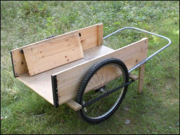 Lovely How To Make A Garden Cart With Bicycle Wheels 85 For
