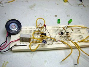 3 fun electronic projects | Science | Electronics projects
