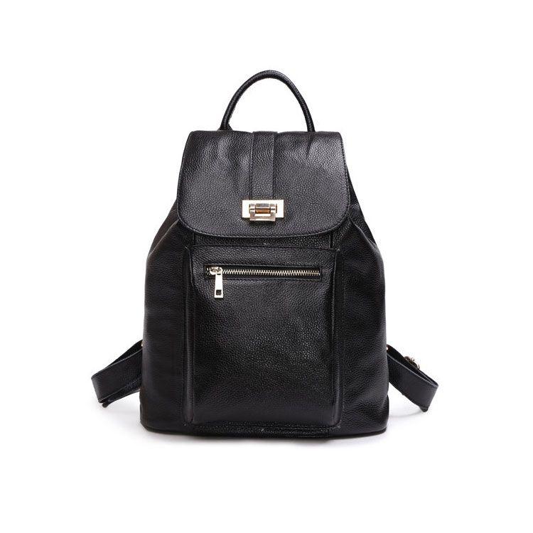 Bolsa de viaje de piel auténtico mujeres del colegio estilo mochila baratas [AS90017] - €67.31 : bzbolsos.com, comprar bolsos online